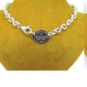 Tiffany & Co Tag Choker